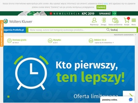 Profinfo.pl księgarnia prawnicza