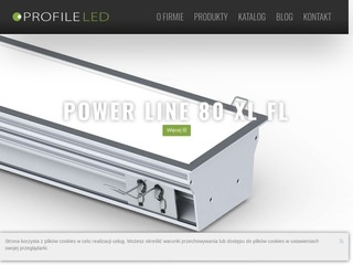 Profileled.pl profile aluminiowe, oprawy LED