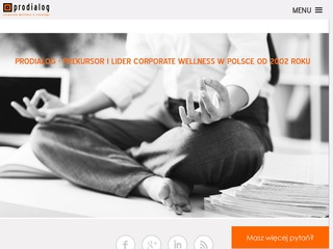 Prodialog - corporate wellness