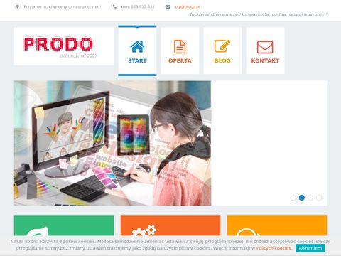 Prodo tworzenie stron www biznesowych