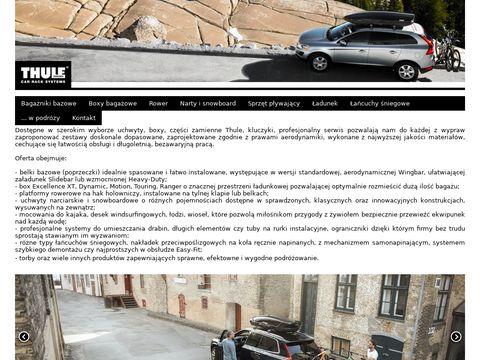 Probag.pl bagażniki samochodowe Thule