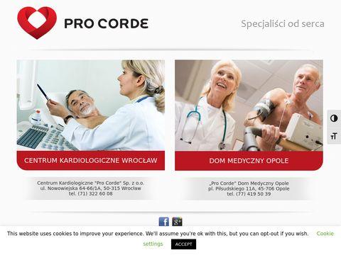 Kardiologia Opole - konsultacje - Solux - ProCorde