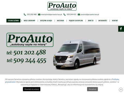 Proauto-bus.pl zabudowy pojazdów