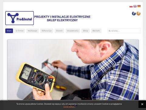 Pro&Instal - elektryk Chorzów