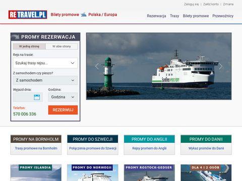 Promy-retravel.pl bilety do Szwecji
