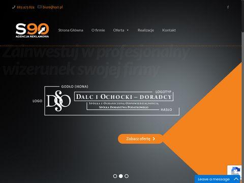 S 90 projektowanie logo