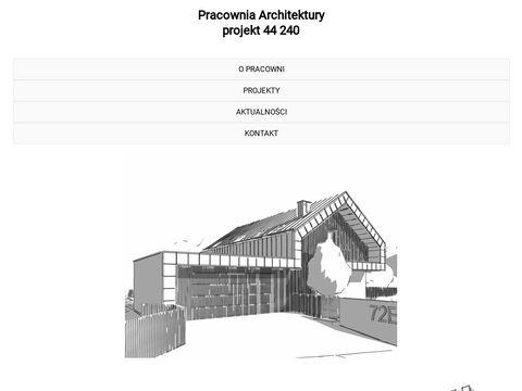 Projekt44240.pl pracownia architektury