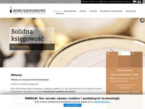 Prokopowicz.opole.pl rzetelne biuro rachunkowe