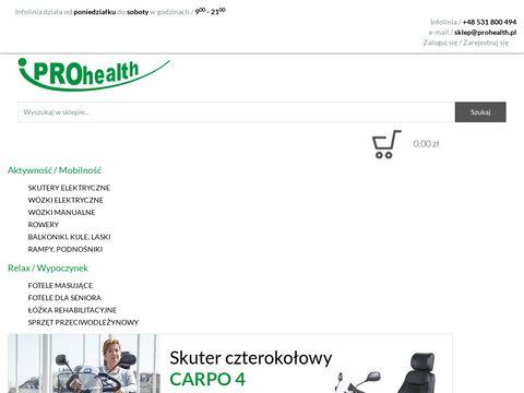 Prohealth.pl fotele masujące - oferta