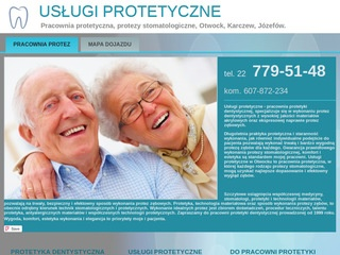 Usługi protetyczne - protezyotwock.com.pl