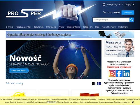Prosper sklep elektryczny