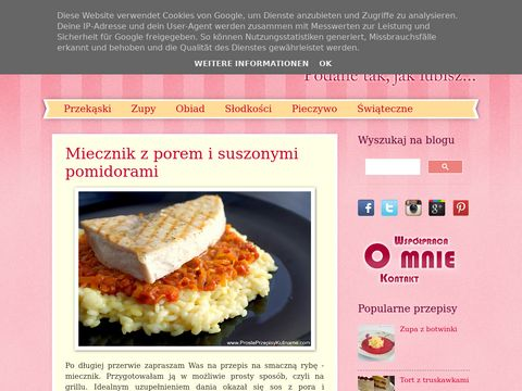 Kucharski blog ze zdjęciami
