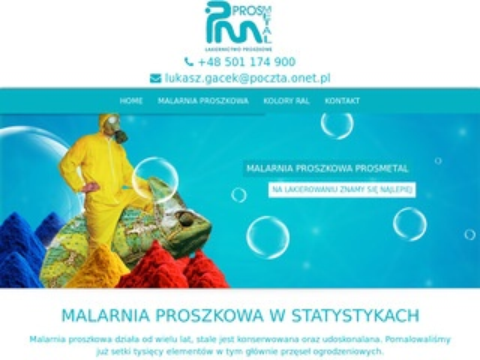Prosmetal.pl lakiernia proszkowa