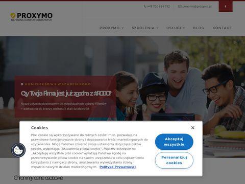 Proxymo.pl administrator bezpieczeństwa informacji