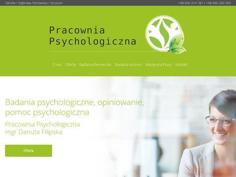 Pracownia-psychologiczna.com.pl badania