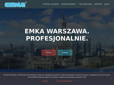 Praniedywanow.warszawa.pl EMKA