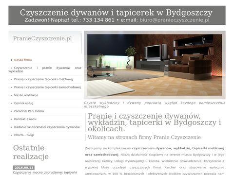 Pranieczyszczenie.pl dywanów - Bydgoszcz