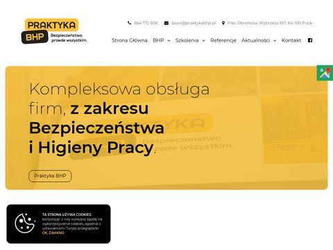 Praktykabhp.pl szkolenia