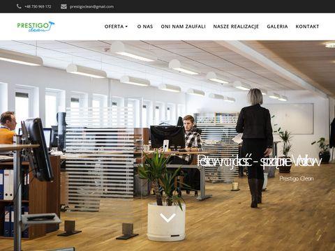 Prestigoclean.pl firma sprzątająca Wrocław