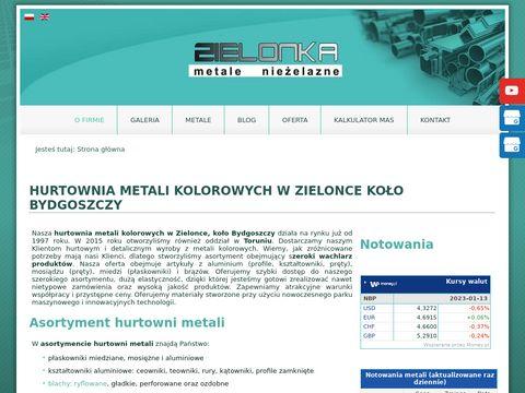 Kształtowniki aluminiowe - P.W. Zielonka