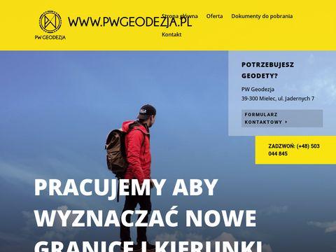Biuro geodezyjne - Piotr Wolanin