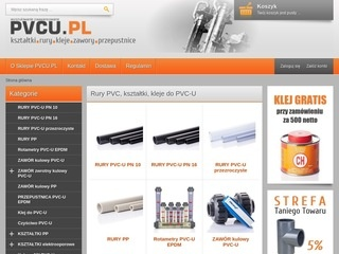 Pvcu.pl instalacje ciśnieniowe kleje armatura