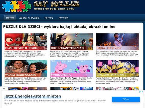 Puzzledladzieci.com.pl twoje układanki graj