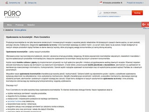 Purocosmetics.pl