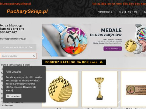 Pucharysklep.pl medale