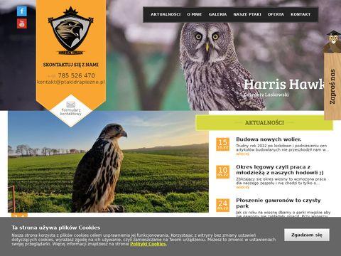 Ptakidrapiezne.pl pokazy ptaków drapieżnych