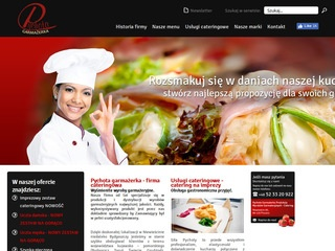 Pychota.com.pl katering Bydgoszcz na każdą okazję