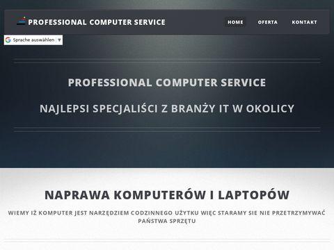 Professional Computer Service - Naprawa i sprzedaż nowych komputerów
