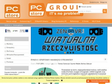 PCstore - Naprawa laptopów Gliwice