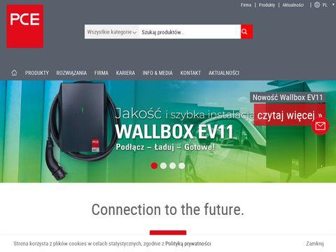 PCE Polska wtyczki stalowe producent