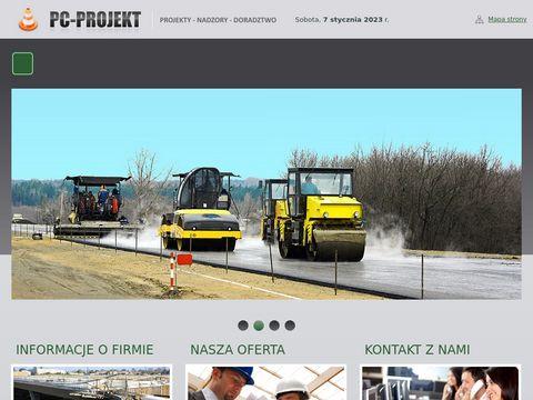 PC-Projekt projekty drogowe Warszawa