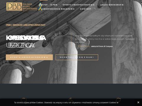 Pbb.pl brokerzy ubezpieczeniowi