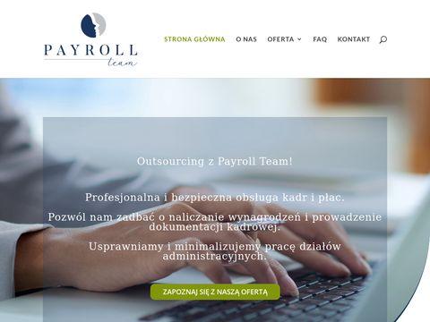 Payroll-team.pl Łódź kadry i płace