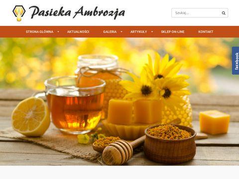 Miód pszczeli naturalne produkty pszczele