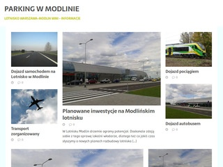 Parkinghotelmodlin.pl - modlin parking