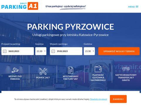 Parkinga1pyrzowice.pl lotnisko