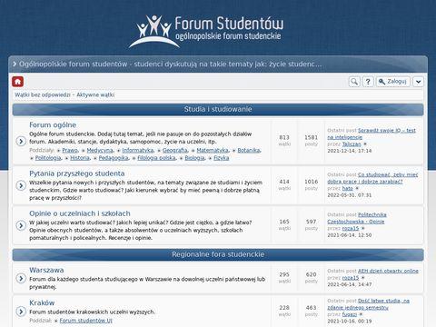 Ogólnopolskie forum dla studentów