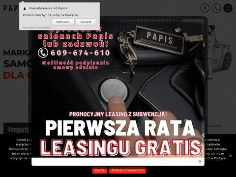 Papis.pl sprzedaż samochodów osobowych