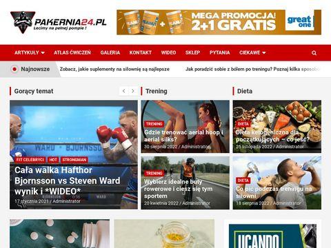 Pakernia24.pl strefy kulturystyka i fitness