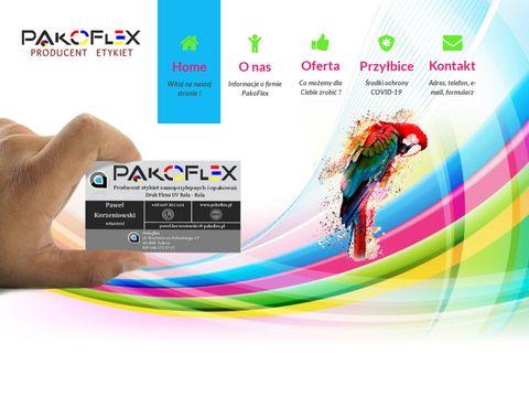 Pakoflex.pl - producent etykiet