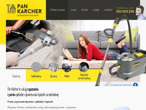 Pankarcher.pl - czyszczenie tapicerki Poznań