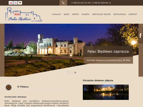 Pałac Będlewo ośrodek badawczo - konferencyjny