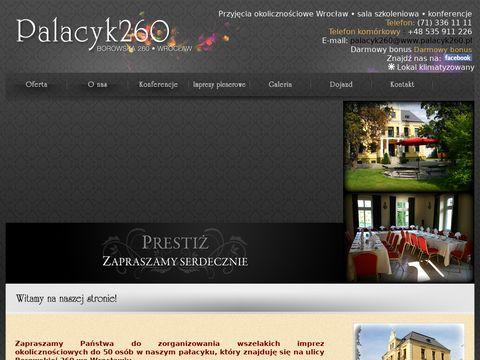 Wesele Wrocław - Pałacyk 260