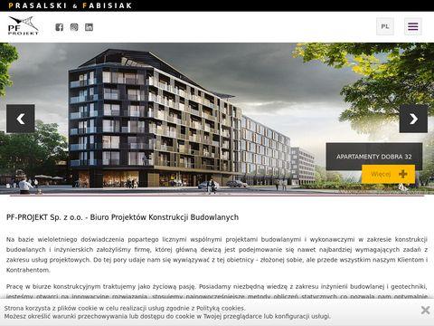 Pfprojekt.pl biuro inżynierskie