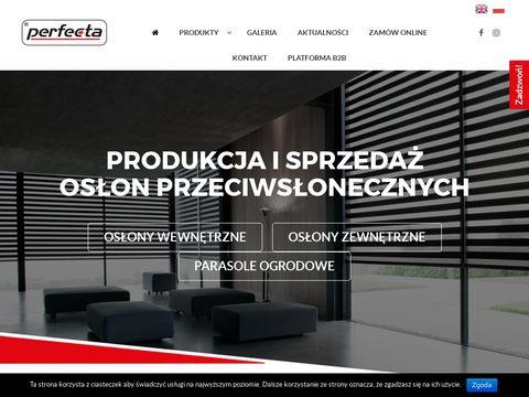 Żaluzje perfecta.pl