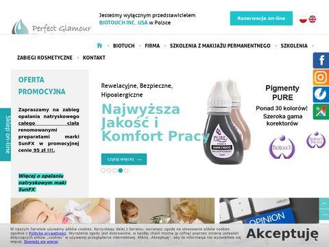 Perfect Glamour kurs przedłużania rzęs Wrocław